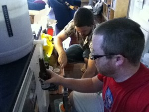 Bottling the Ginger